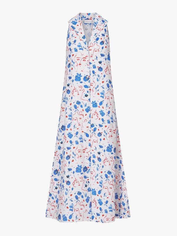 Jackie Linen Dress