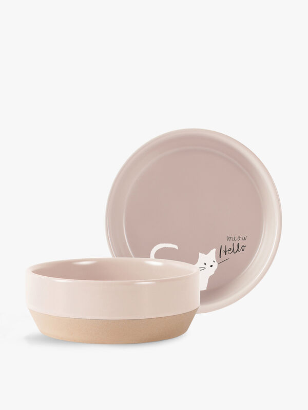 Whisker Cat Small Bowl
