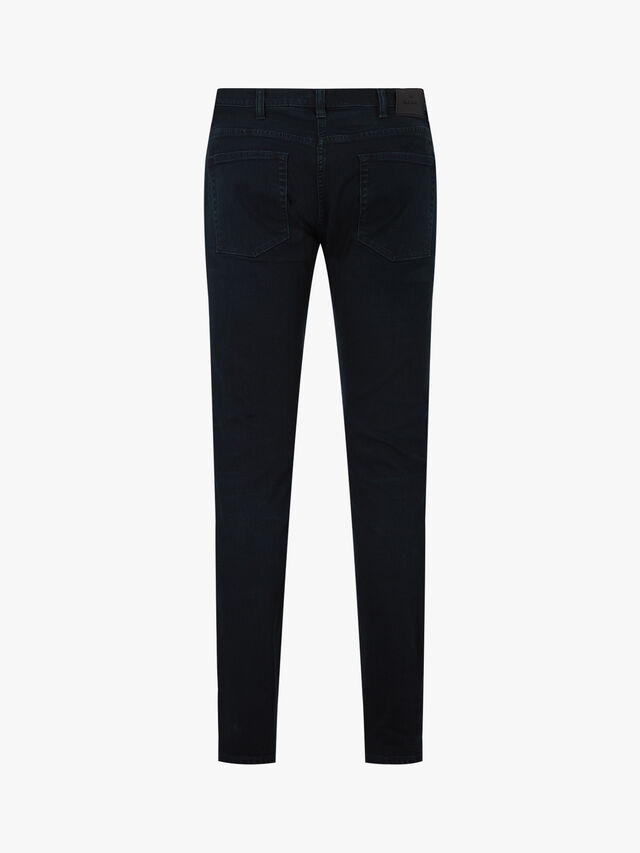 Crosshatch Tapered Fit Jeans