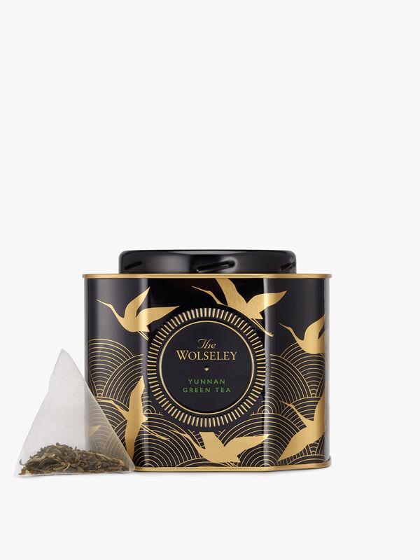Green Tea Pyramids