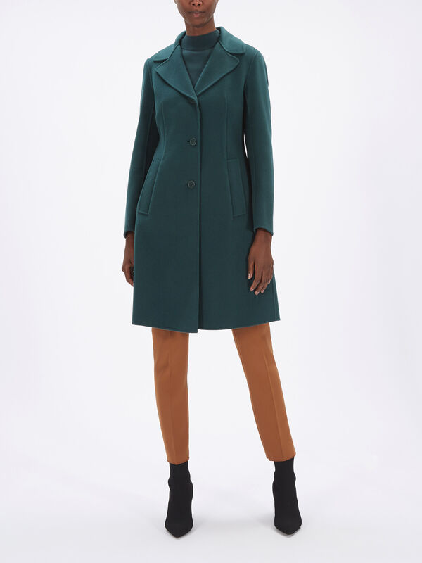 Uggioso Single Breast Wool Coat