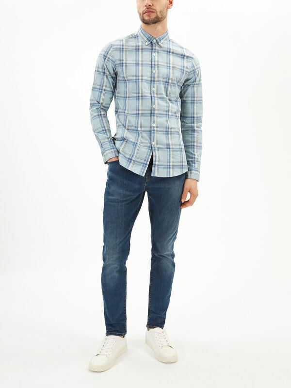 Steen Slim Fit Check Shirt