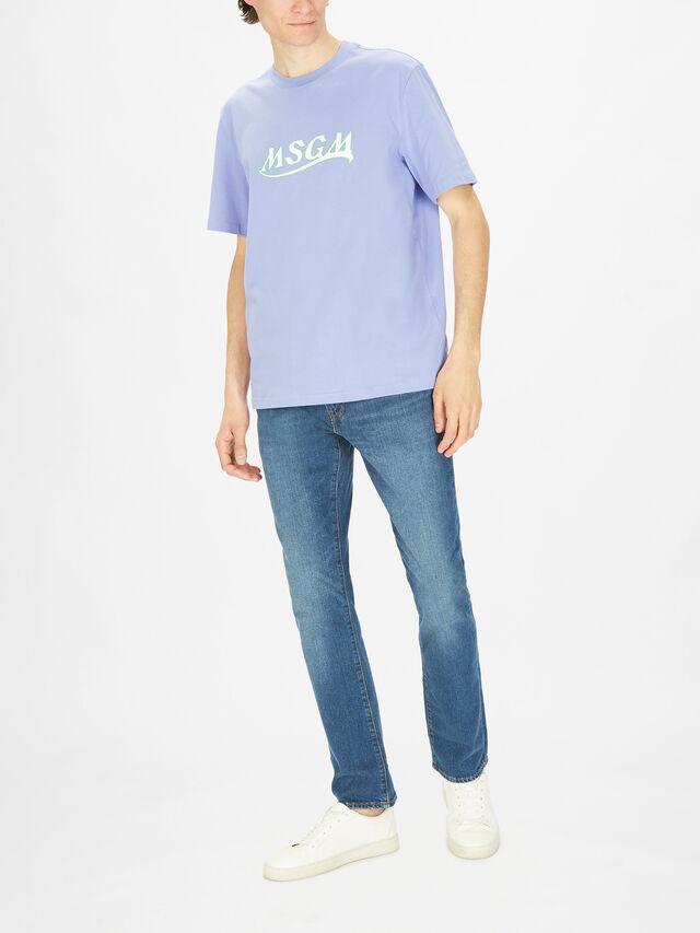 Swoosh Font T-Shirt