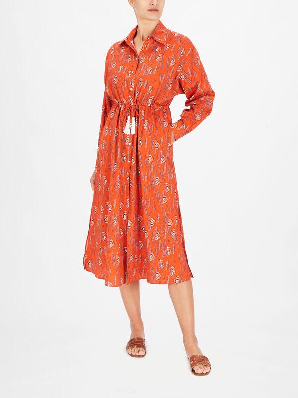 Efterpe Midi Shirt Dress