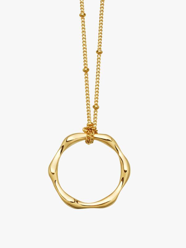 Molten Chain Necklace