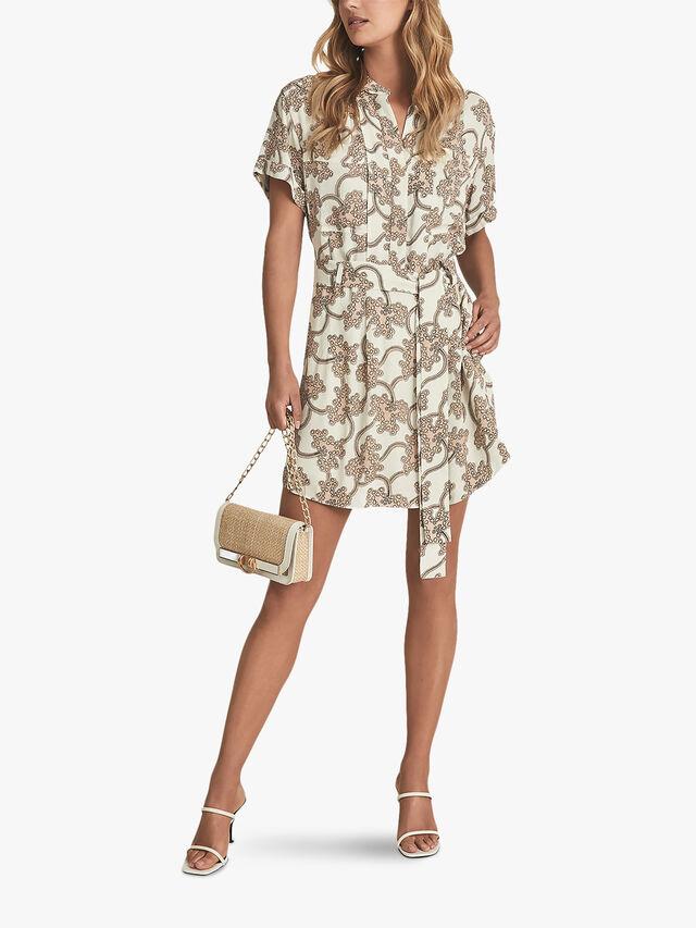 Nico Printed Mini Dress