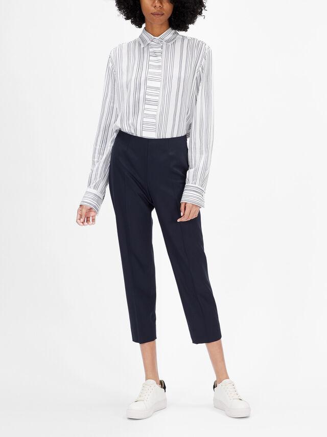 Audrey Heavy Wool Trouser