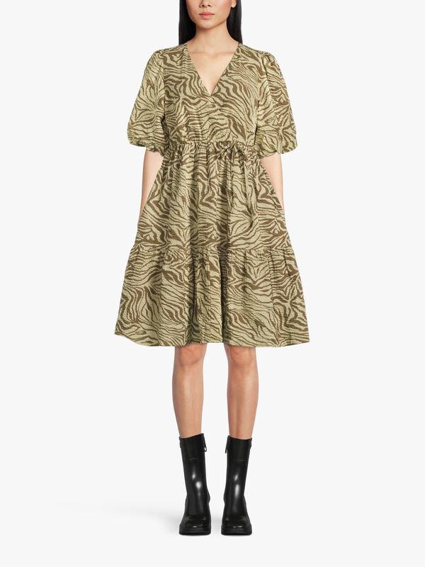 AveryGZ Short Tiered Dress