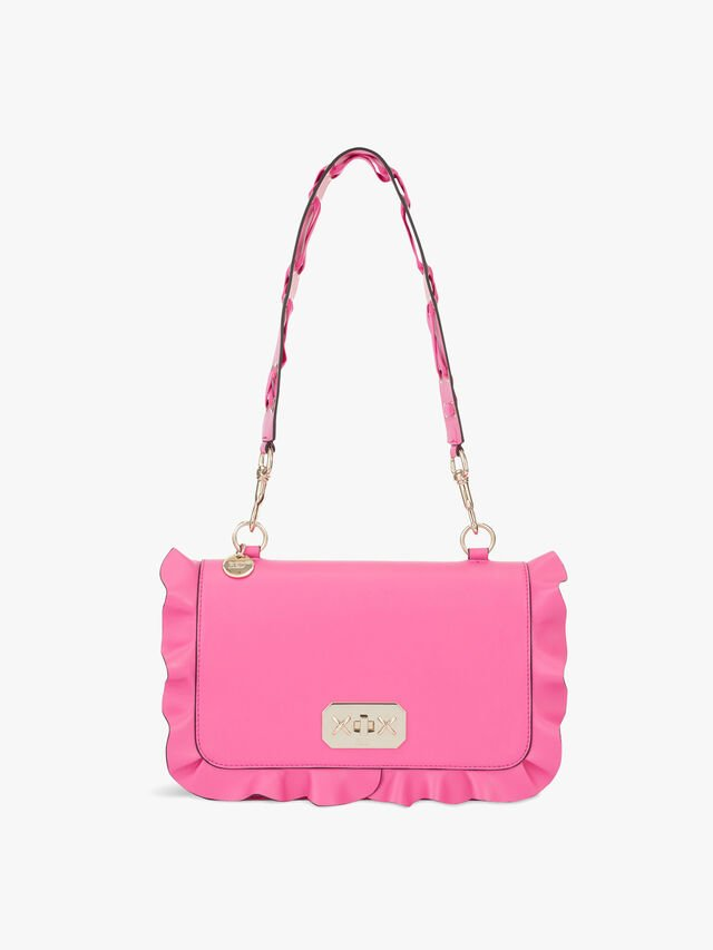 Large Shoulder Frill Bag