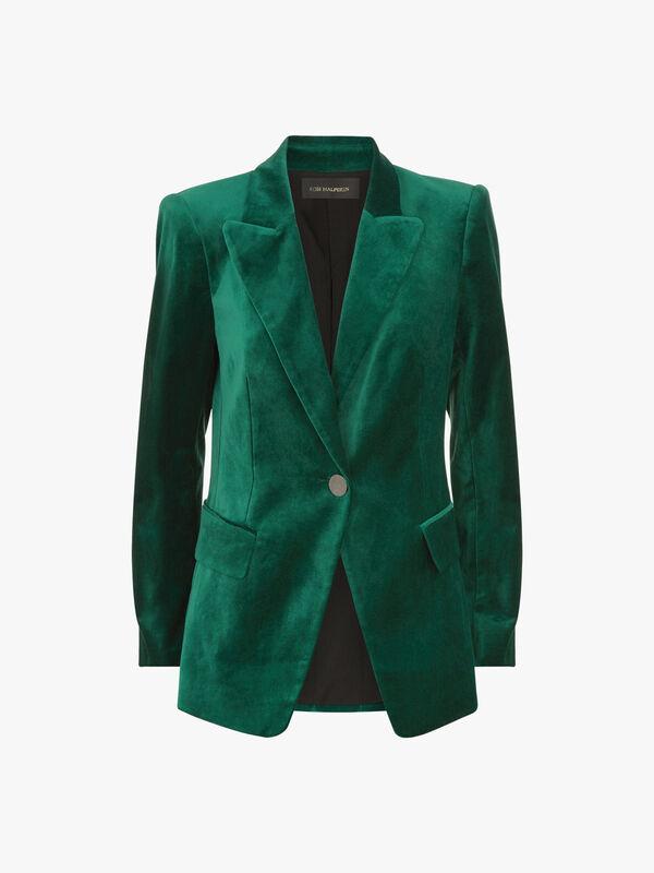 Clara Velvet Jacket