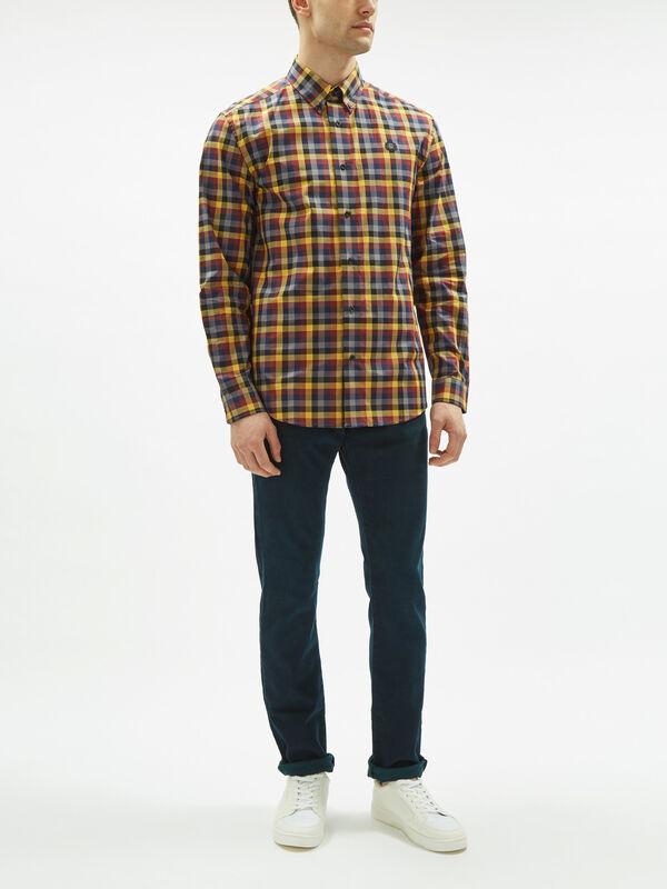 Five Colour Gingham Shirt
