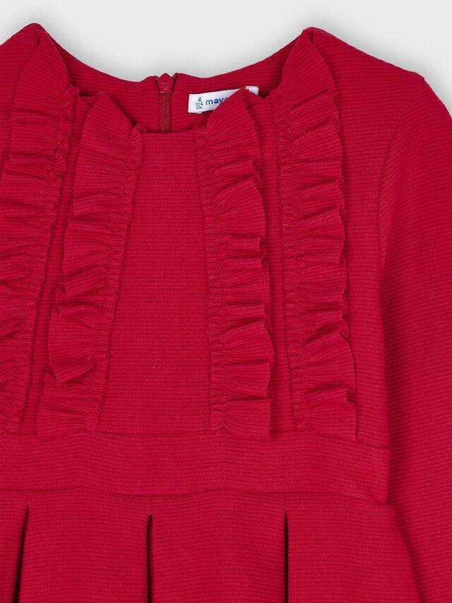 Knitted dress ottoman