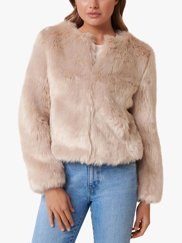 Angel fur coat