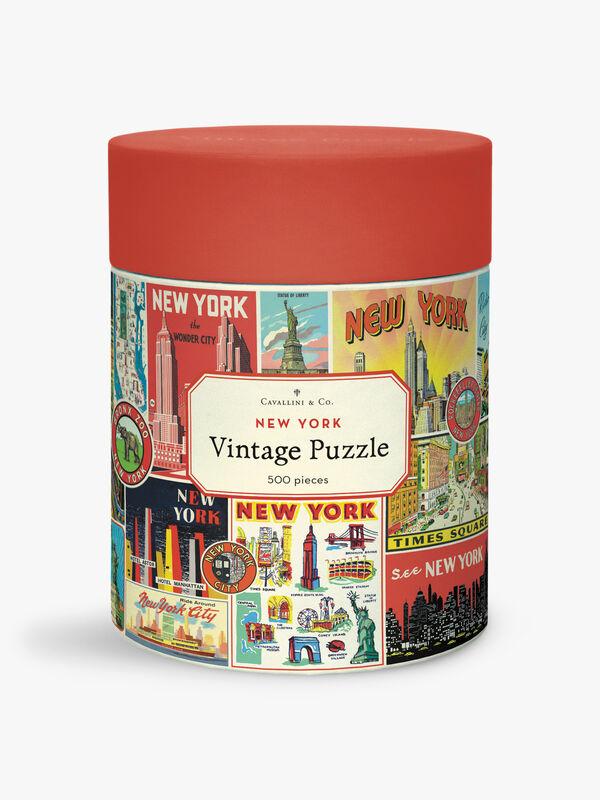 Vintage Puzzles 500 Piece New York City