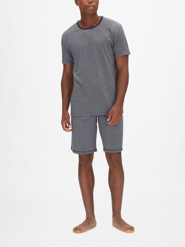 Marine Stripe Loungewear T-shirt