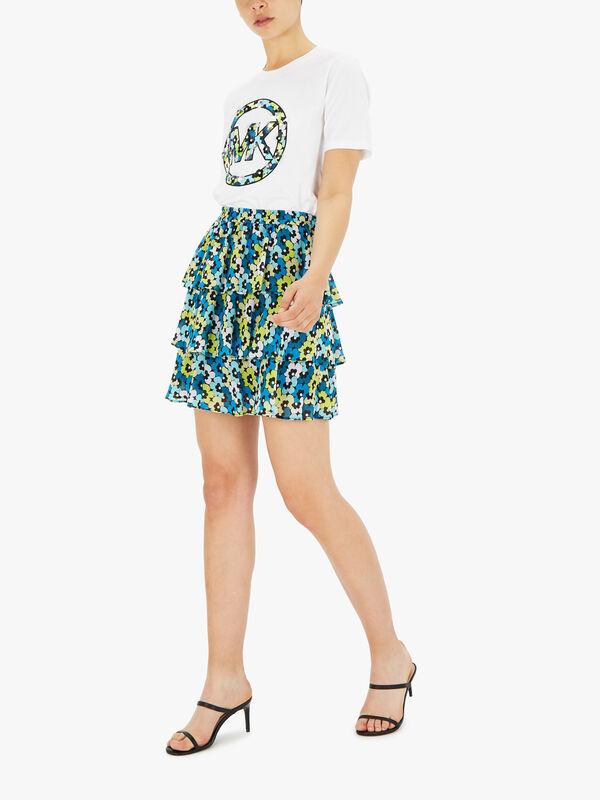 60s Floral Mini Skirt
