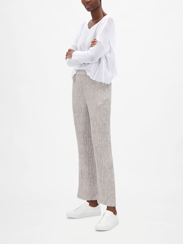 Linen Pull On Relaxed Fit Trouser