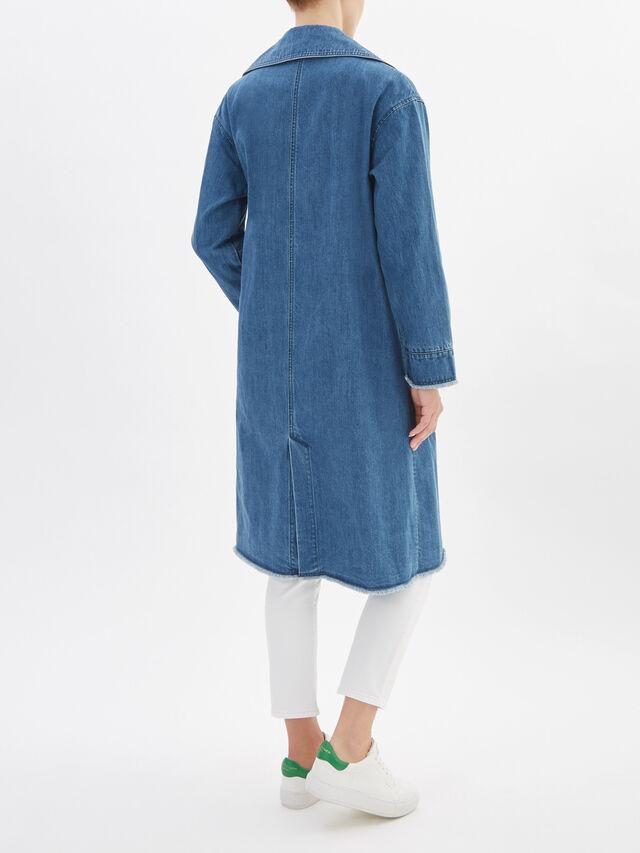 Delfino Oversized Denim Coat