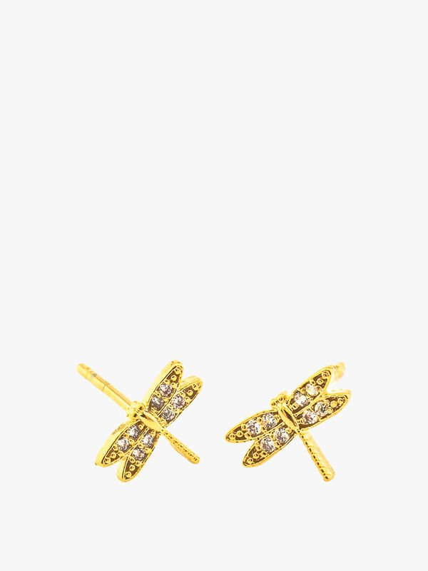 Dragonfly Post Earring