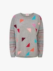 Triangle-Print-Stripe-Sleeve-Knit-0001069415