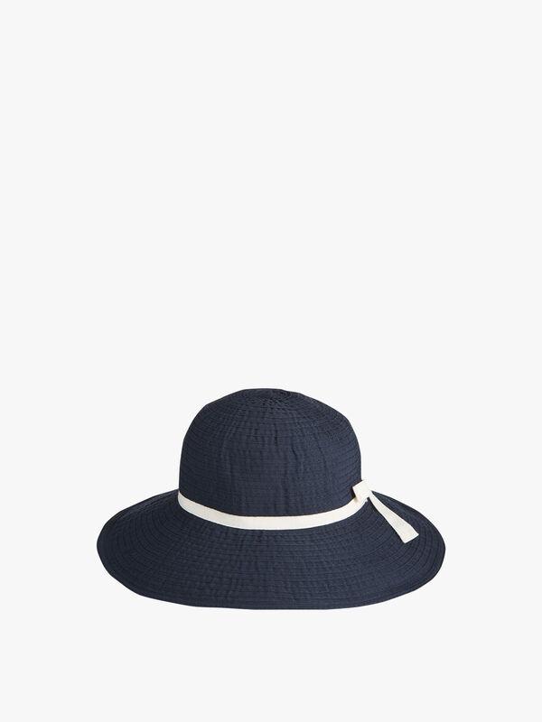 Tape Bow Sun Hat
