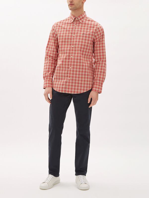 Long Sleeve Broadcloth Shirt