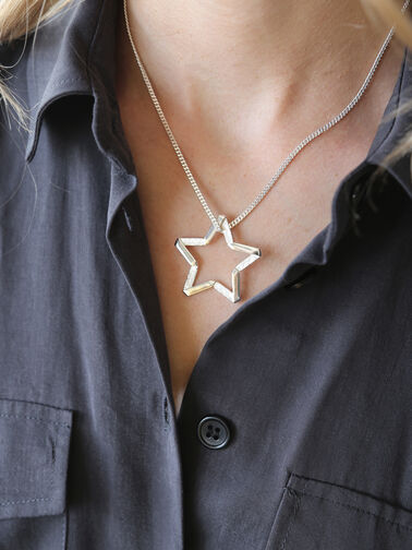 Exclusive Star Facing Necklace