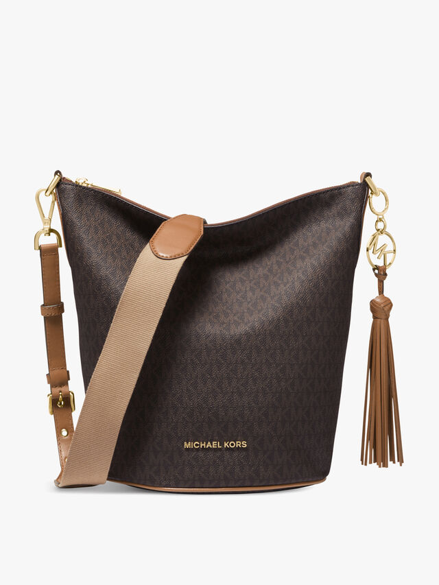 Brooke Medium Zip Messenger Bag