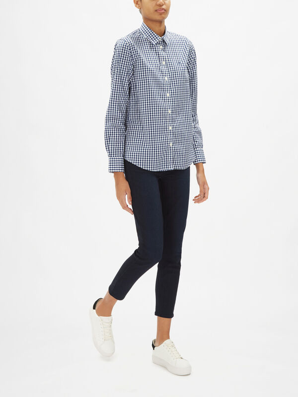 Broadcloth Gingham Shirt