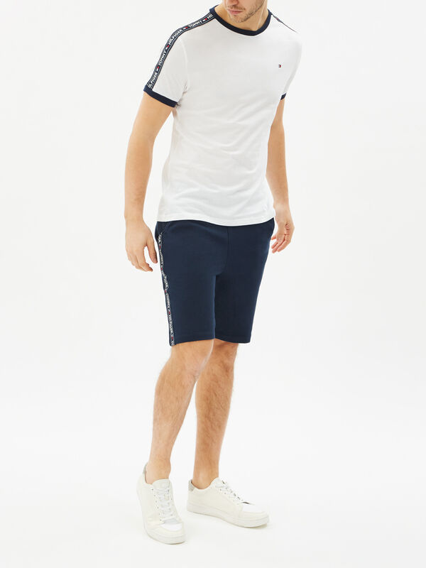Side Logo Tape Shorts
