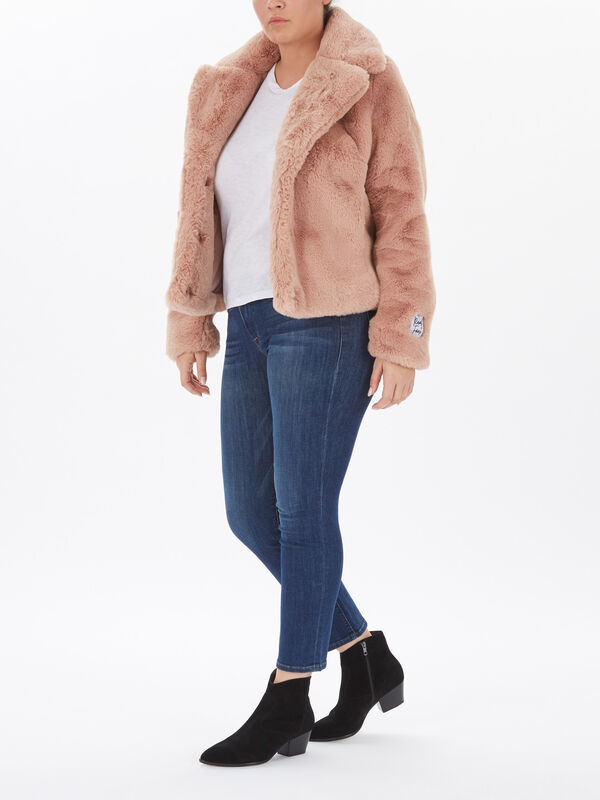 Faux Fur Short Lux Jacket