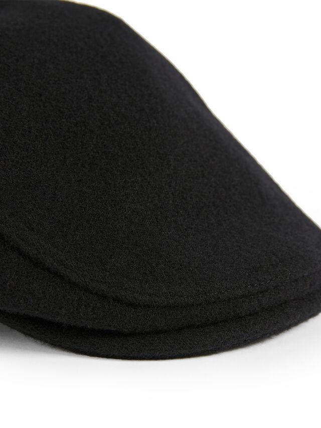 HUXLIE Wool Flat Cap