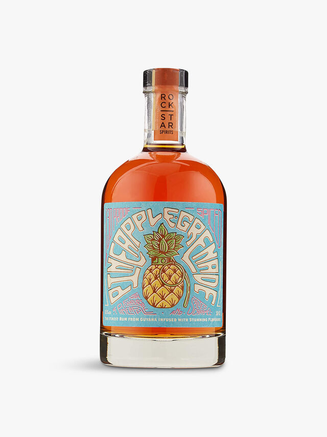 Pineapple Grenade Overproof Spiced Rum 50cl