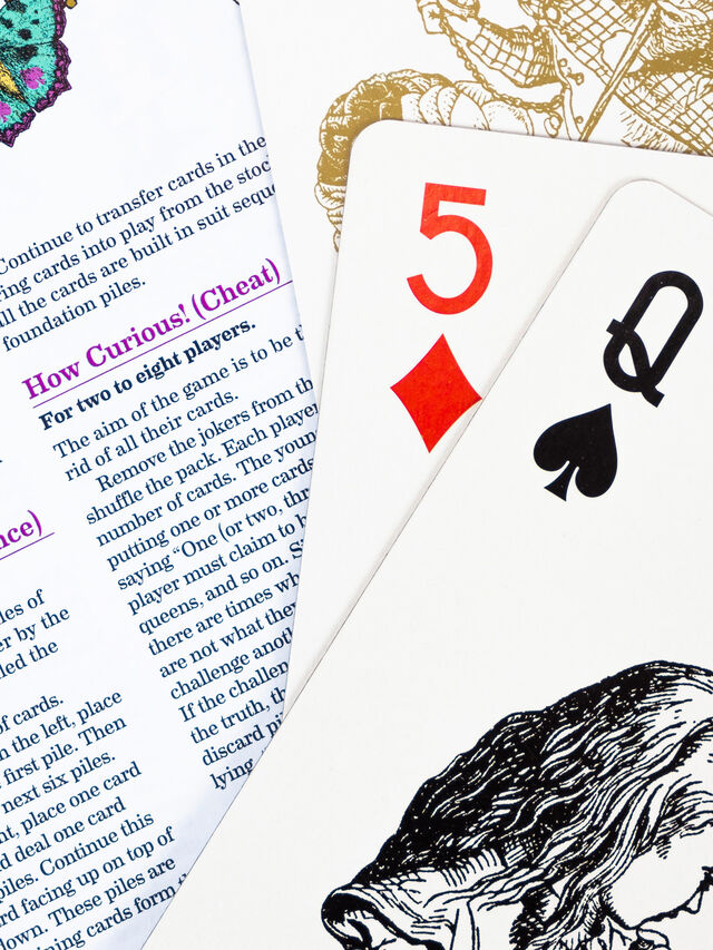 The Queen's Guards Giant Playing Cards
