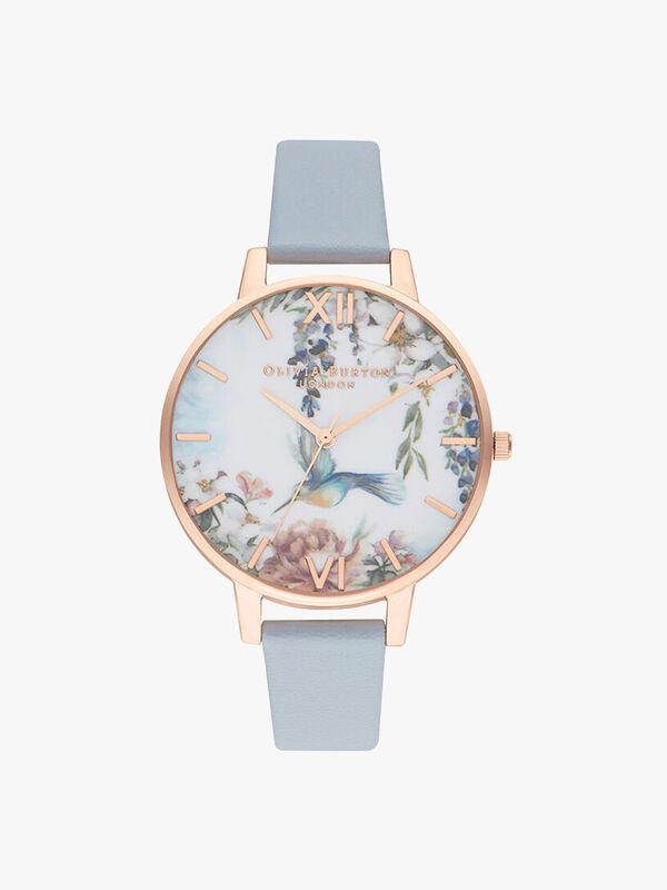 Painterly Prints Vegan Chalk Watch