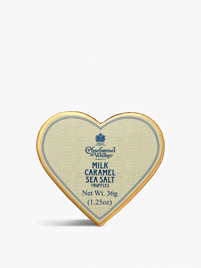 Sea Salt Caramel Mini Heart