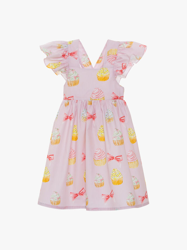 Cupcakes and Bows Dress