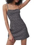 Aura Ditsy Whisper Strappy Dress