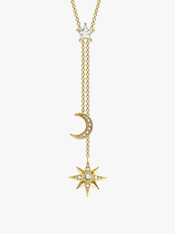 Magic Stars Star & Moon Necklace