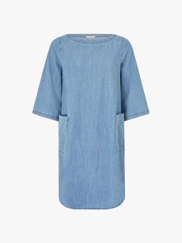 Organic Cotton Denim Dress