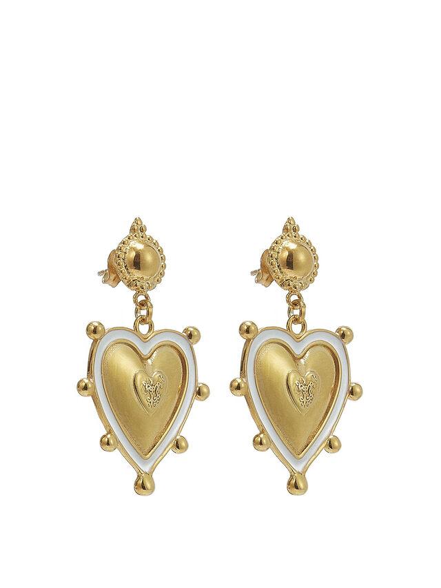 Sicilian Heart Earrings