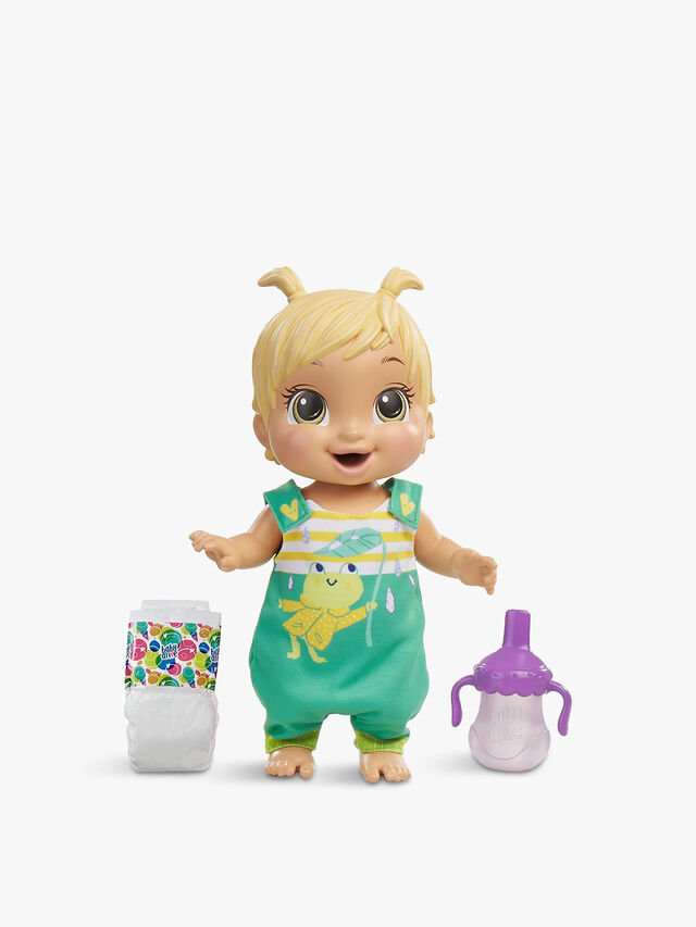 Baby Gotta Bounce Doll Frog Outfit