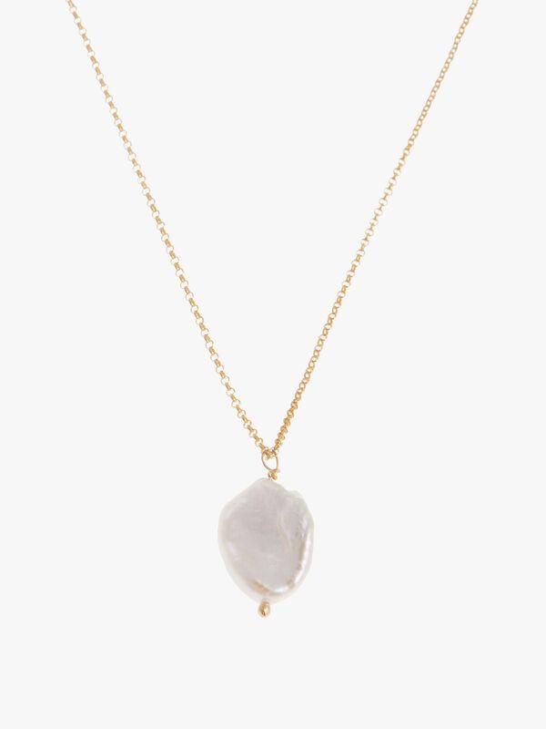 Sea Pearl Short Pendant Necklace