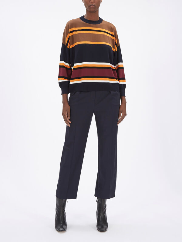 Zannata Block Stripe Knit