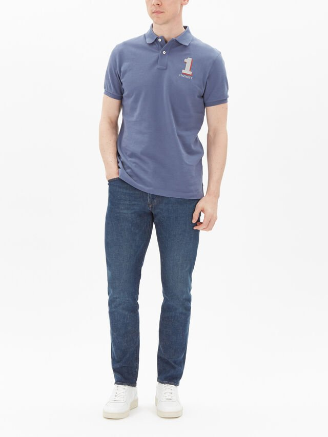 Number Polo Shirt