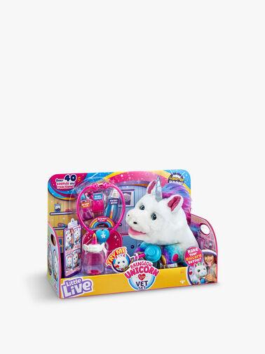 Little Live Rainglow Unicorn Vet Kit
