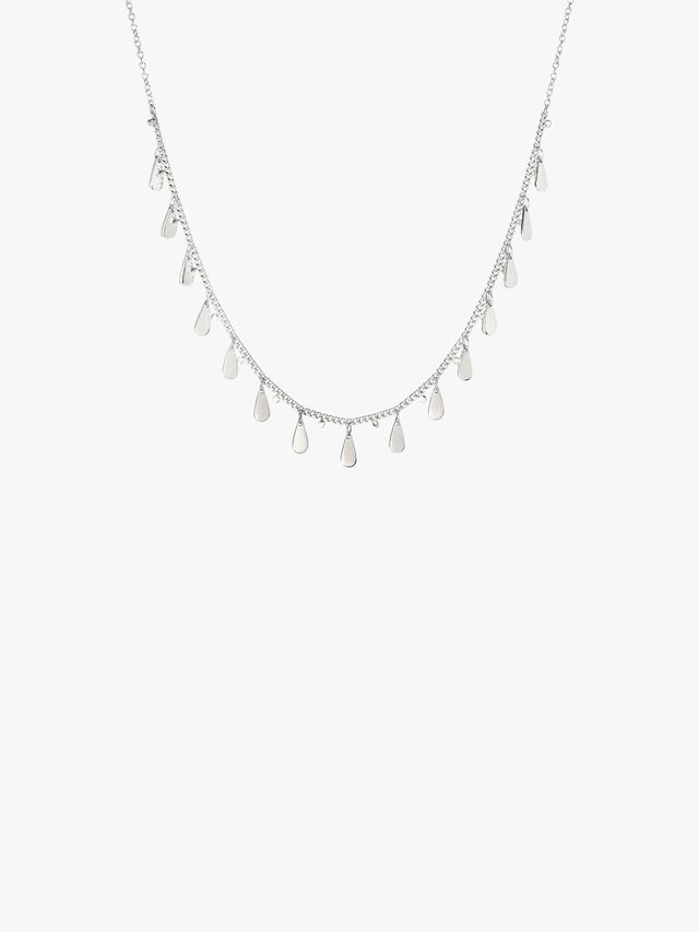 Signature Drop Charm Choker