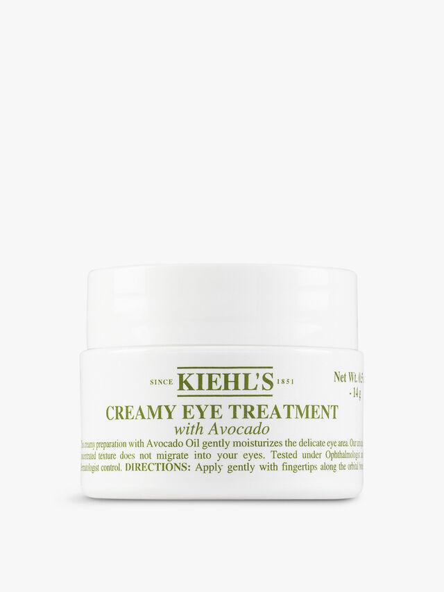 Creamy Eye Treatment With Avocado