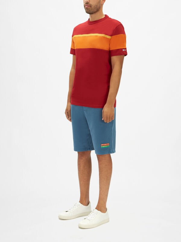 Bold Stripe Tape T-Shirt