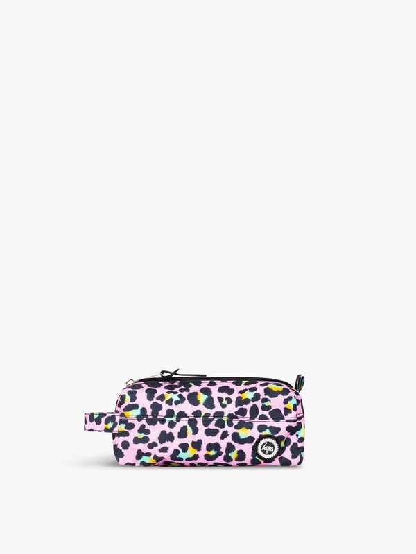 Disco Leopard Pencil Case
